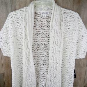 St John's Bay size small cardigan vest